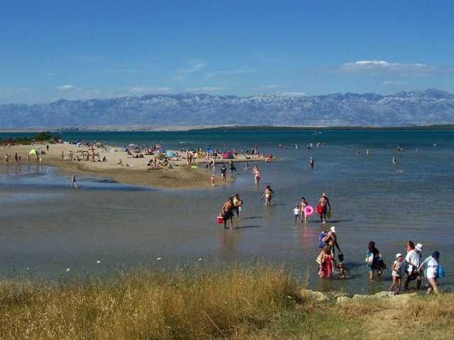 Kraljičina (Királynő) Beach, Nin