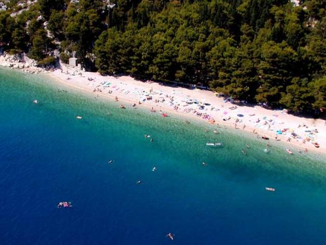 Slatina strand, Tucepi