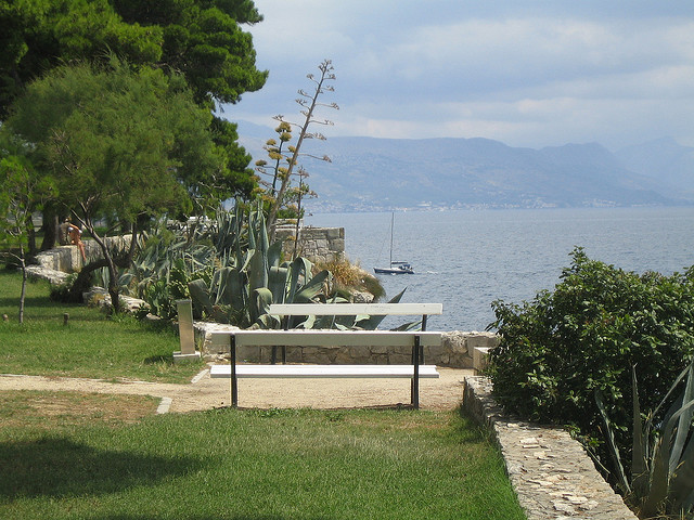 Park, Sustipan-félsziget, Split